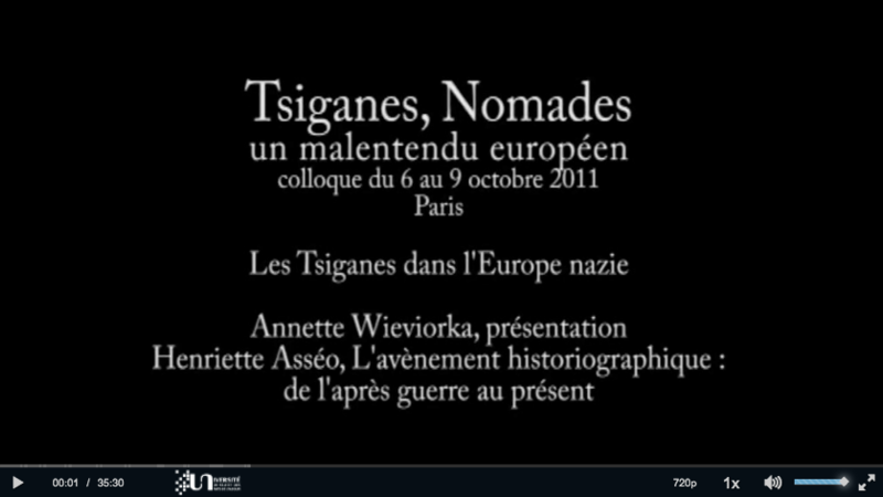 Annette Wiewiorka, présentation, Henriette Asseo, L'avènement historiographique, de l'après-guerre au présent